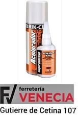 Brik cen acelerador,B 689,B-689,Pegamento de cianocrilato, adesivo de cianocrilato,acelerador de pegamento,