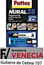 Pegamento extra fuerte auto, Nural 25, Pegamento coche,Nural pattex 25,Pattex coche,