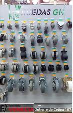 Ruedas GH Cofer, Gran variedad en ruedas, ruedas silla oficina, ruedas muebles,ruedas para muebles, ruedas para sillas, Ruedas RGH Cofer,